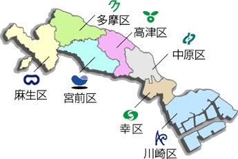 kawasakisi-map